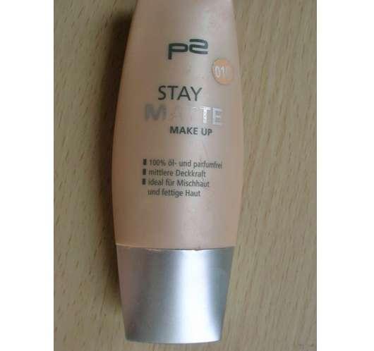 p2 stay matte make up, Nuance: 010 matte rose