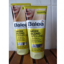 Produktbild zu Balea Professional More Blond Shampoo