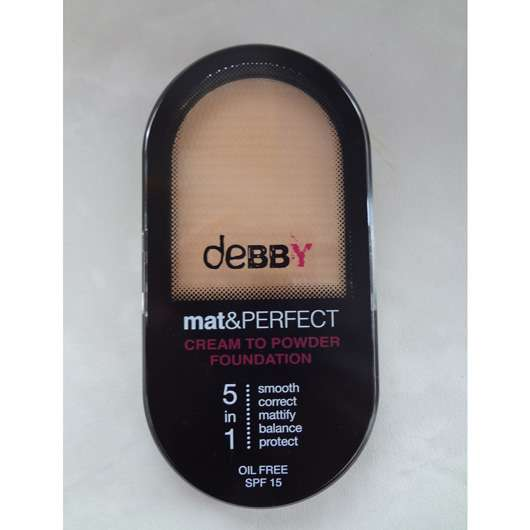 <strong>debby</strong> Mat&Perfect Cream To Powder Foundation - Nuance: 01