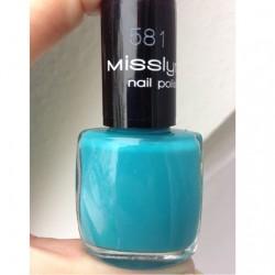 Produktbild zu Misslyn nail polish – Farbe: 581 Pool Party (LE)