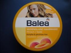Produktbild zu Balea Seidenglanz Haarmaske Pfirsich + Seide