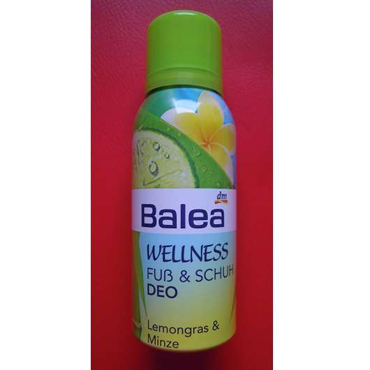 Balea Wellness Fuß & Schuh Deo Lemongras & Minze