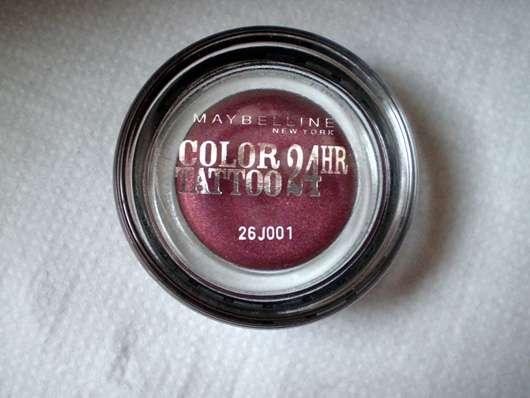 Maybelline Jade Eyestudio Color Tattoo 24HR Gel-Cream Eyeshadow, Farbe: 70 Metallic Pomegranate