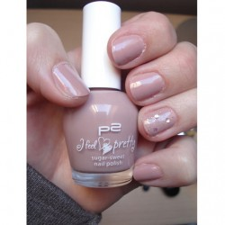 Produktbild zu p2 cosmetics I feel pretty sugar sweet nail polish – Farbe: 010 mocca splash (LE)