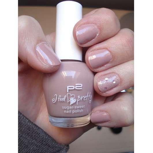 p2 I feel pretty sugar sweet nail polish, Farbe: 010 mocca splash (LE)