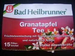 Produktbild zu Bad Heilbrunner Granatapfel Tee