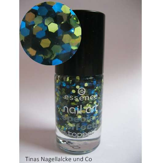 essence nail art special effect topper, Farbe: 13 mrs and mr glitter