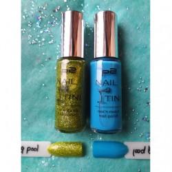 Produktbild zu p2 cosmetics nail'tini mix'n match nail polish set – Farbe: 020 flashy swimming pool (LE)