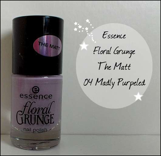 essence floral grunge nail polish, Farbe: 04 madly purpeled (LE)