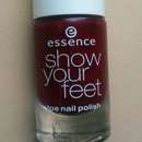 essence show your feet toe nail polish, Farbe: 08 divalicious red