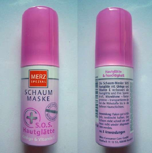 Merz Spezial Schaum-Maske S.O.S. Hautglätte