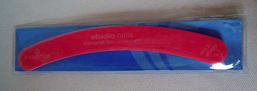 essence studio nails banana file