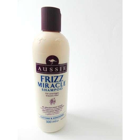 test shampoo aussie frizz miracle shampoo fà r unartiges