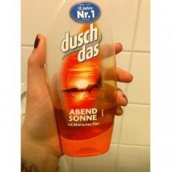 Produktbild zu duschdas Abendsonne Duschgel mit ätherischen Ölen