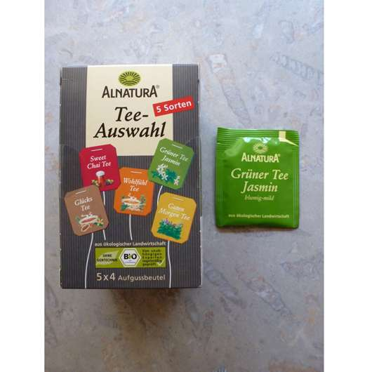 Alnatura Teeauswahl – Grüntee Jasmin