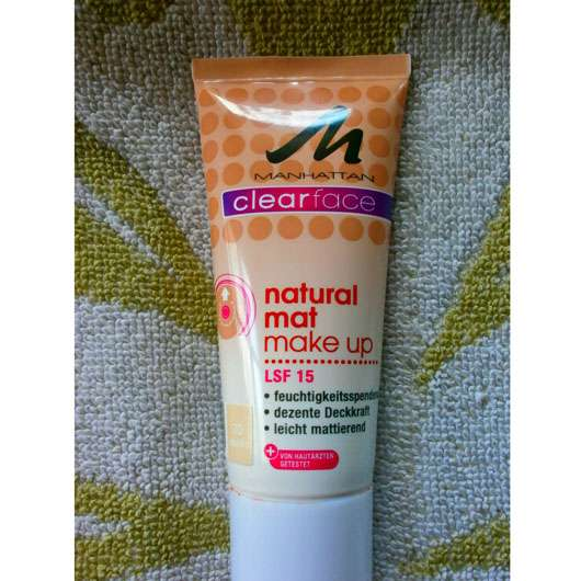 <strong>MANHATTAN CLEARFACE</strong> Natural Mat Make-Up - Nuance: 70 Vanilla