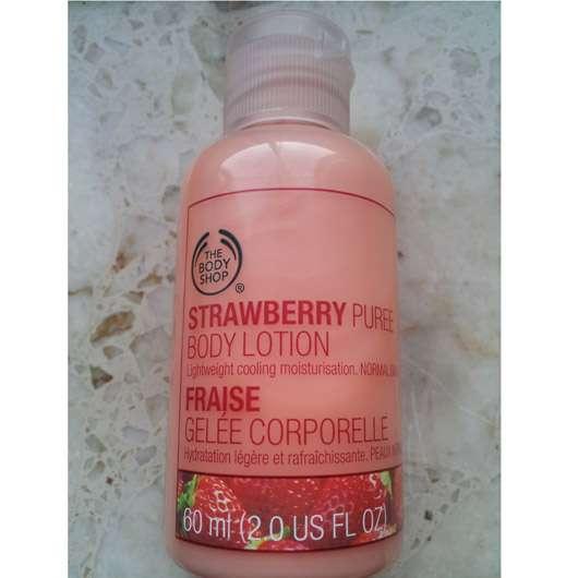 The Body Shop Strawberry Bodylotion