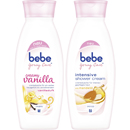 bebe Young Care creamy vanilla und intensive shower cream