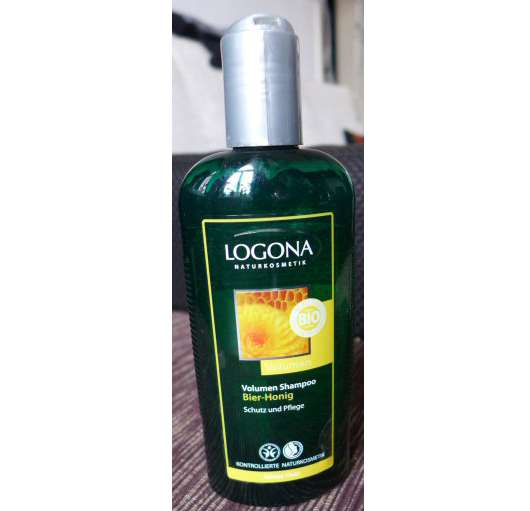 Logonoa Volumen Shampoo Bier-Honig