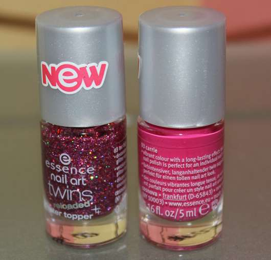 essence nail art twins reloaded, Farbe: 03 carrie & mr. big