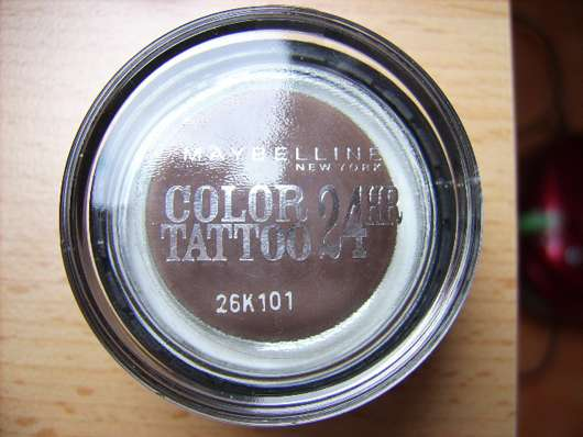 Maybelline Eyestudio Color Tattoo 24HR Gel-Cream Eyeshadow, Farbe: 40 Permanent Taupe