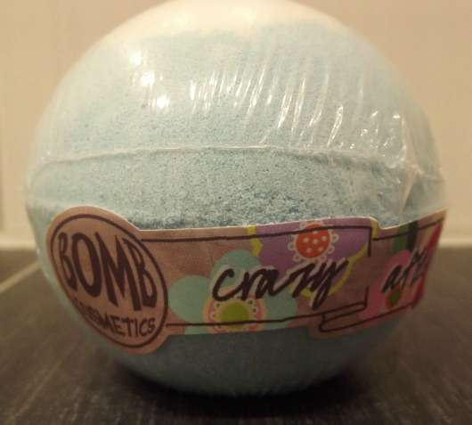 Bomb Cosmetics Crazy After Dark Bath Blaster