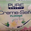Pure & Basic Creme-Seife Flower