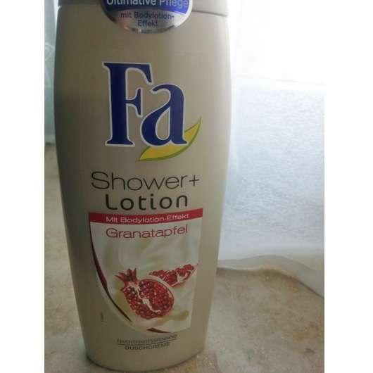 Fa Shower + Lotion Granatapfel Duschcreme