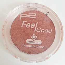 Produktbild zu p2 cosmetics feel good compact blush – Farbe: 030 pure amber