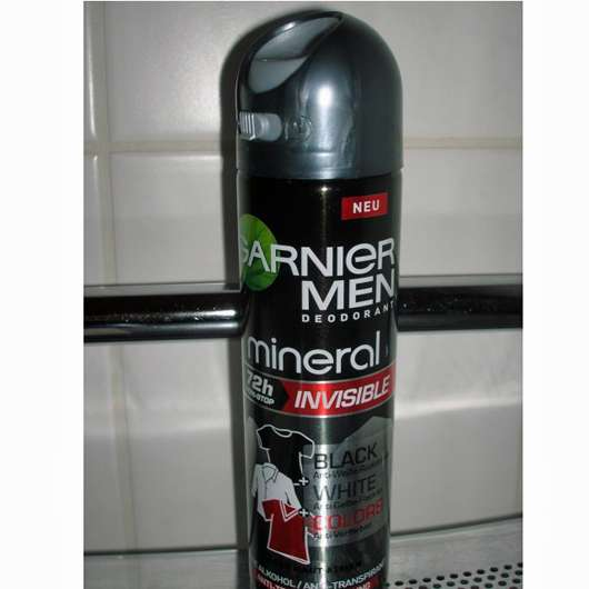 Garnier Men Mineral 72h Invisible Deodorant Spray