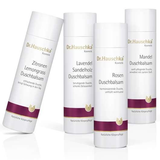 Neue Duschbalsame von Dr.Hauschka Kosmetik