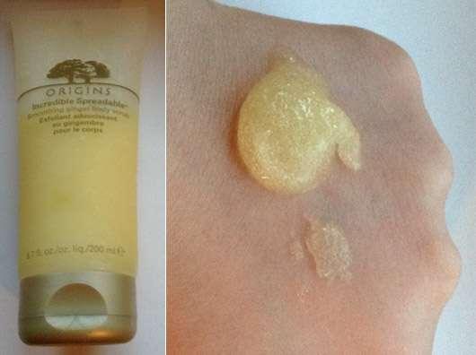 Origins Incredible Spreadable Smoothing Ginger Body Scrub