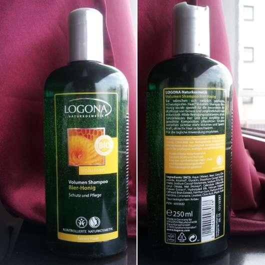 Logona Volumen-Shampoo Bier-Honig