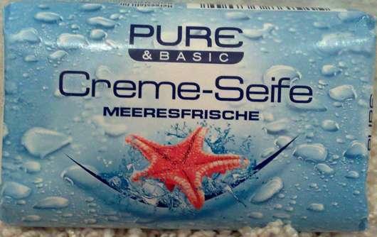 Pure & Basic Creme-Seife Meeresfrische