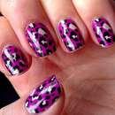 Misslyn nail polish strips, Design: 15 Pink & Rose