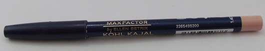test kajal max factor kohl kajal farbe 090 natural glaze testbericht von lythliar. Black Bedroom Furniture Sets. Home Design Ideas