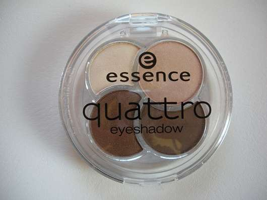 essence quattro eyeshadow, Farbe: 05 to die for
