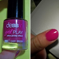 Produktbild zu debby gelPLAY nail polish – Farbe: 13 no doubt