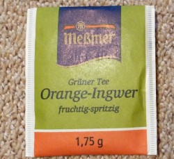 Produktbild zu Meßmer Grüner Tee Orange-Ingwer