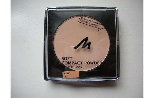 Manhattan Soft Compact Powder Natural Look, Farbe: 3 Beige