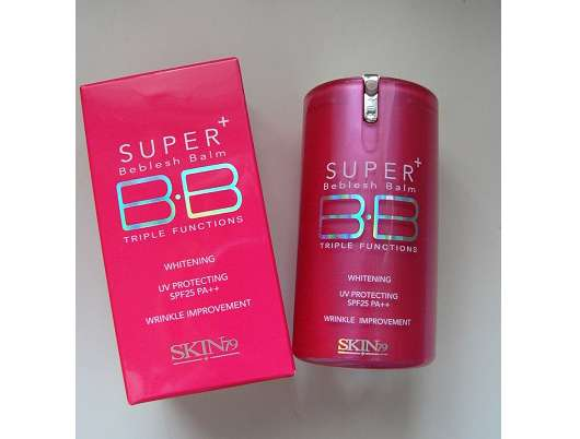 SKIN79 Hot Pink Super Plus Beblesh Balm