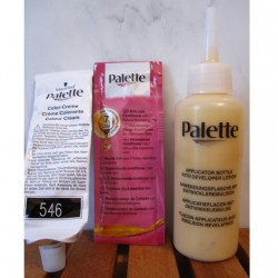 Produktbild zu Poly Palette Intensiv-Creme-Coloration – Farbe: 546 Caramel Gold Blond