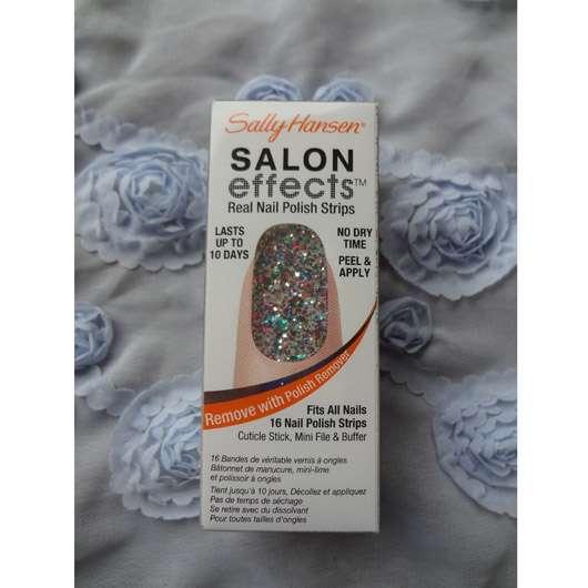 Sally Hansen Salon Effects Real Nail Polish Strips, Farbe: 210 Frock Star