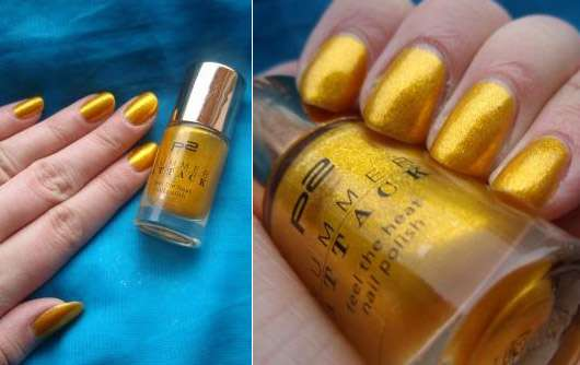 p2 summer attack feel the heat nail polish, Farbe: 020 lemon drop (LE)