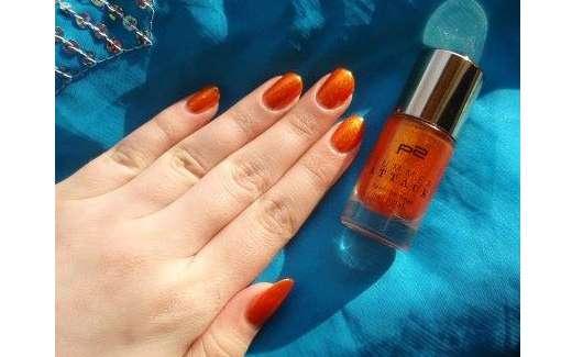 p2 summer attack feel the heat nail polish, Farbe: 030 tangerine twist (LE)