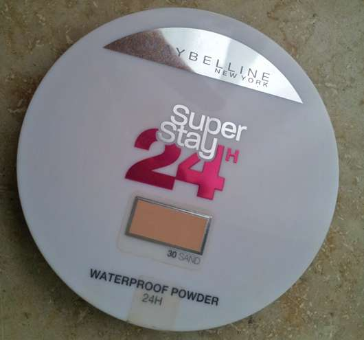 Maybelline Super Stay 24H Waterproof Powder, Farbe: 30 Sand