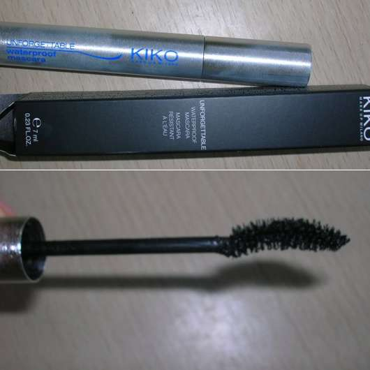 KIKO Unforgettable Waterproof Mascara