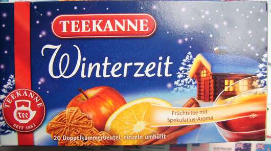 <strong>Teekanne</strong> Winterzeit Früchtetee mit Spekulatius-Aroma (LE)