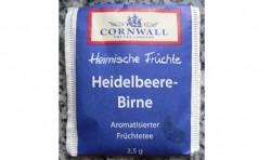 Produktbild zu Cornwall Heimische Früchte Heidelbeere-Birne Aromatisierter Früchtetee