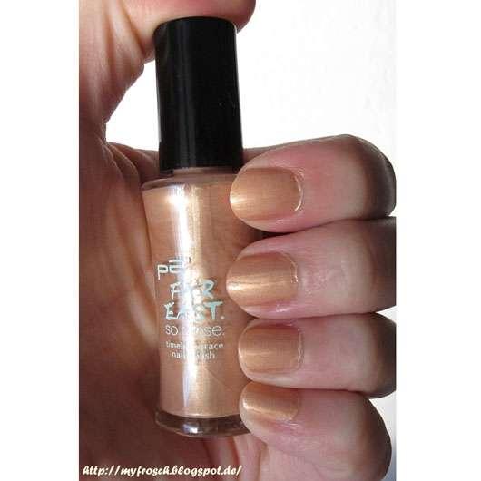 p2 far east so close timeless grace nail polish, Farbe: 010 golden amber (LE)